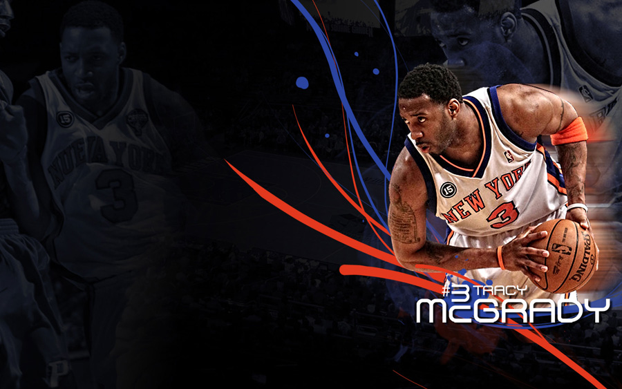 T-Mac Knicks 1920-x1200 Widescreen Wallpaper