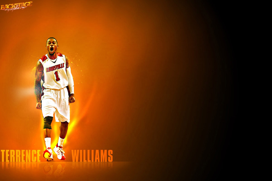 Terrence Williams Louisville Cardinals Widescreen Wallpaper