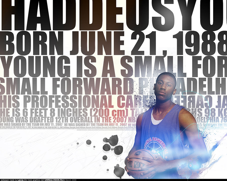 Thaddeus Young Info Wallpaper
