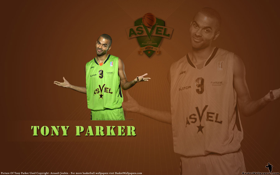 Tony Parker Asvel Widescreen Wallpaper