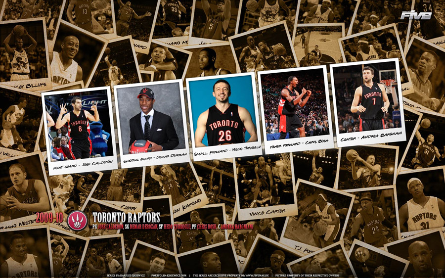 Toronto Raptors 2010 Widescreen Wallpaper