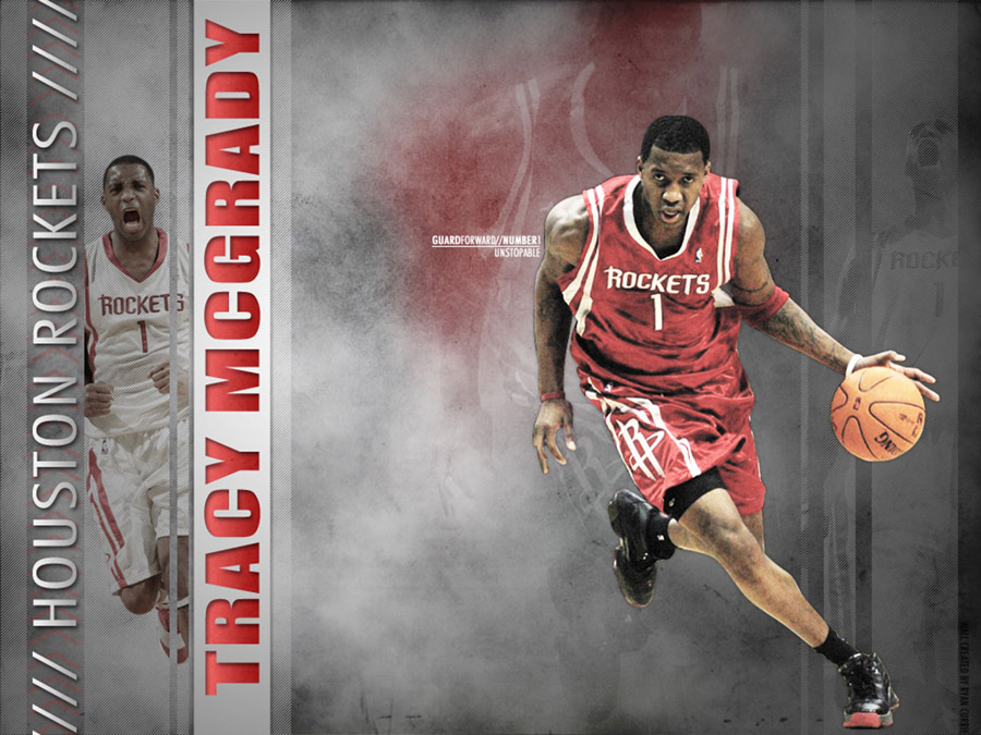 Tracy McGrady Dribbling Wallpaper