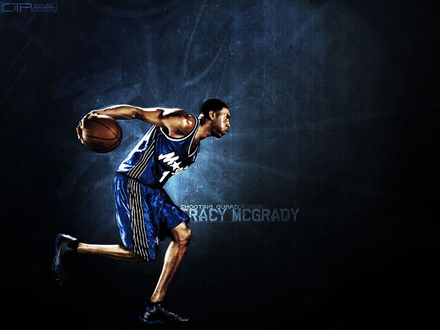 Tracy Mcgrady Orlando Magic Wallpaper