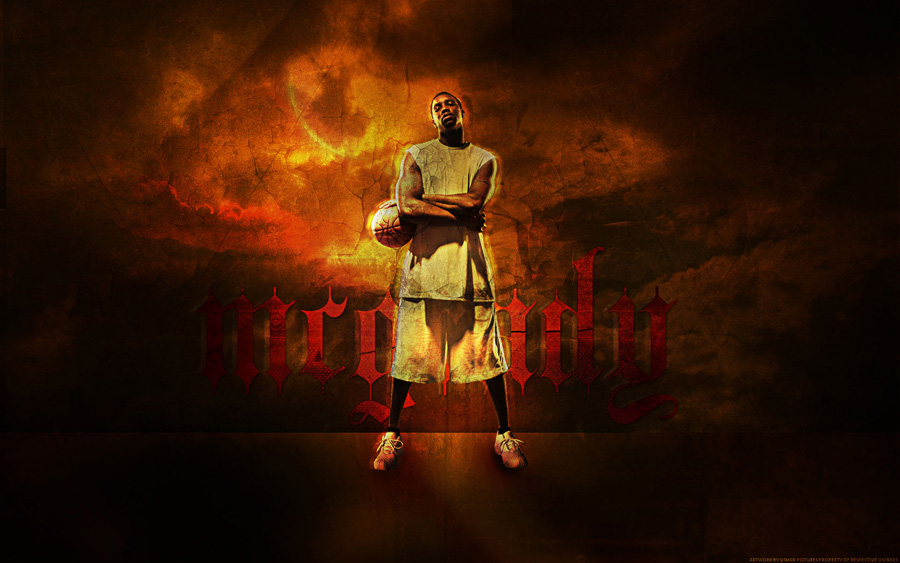 Tracy McGrady Widescreen Wallpaper