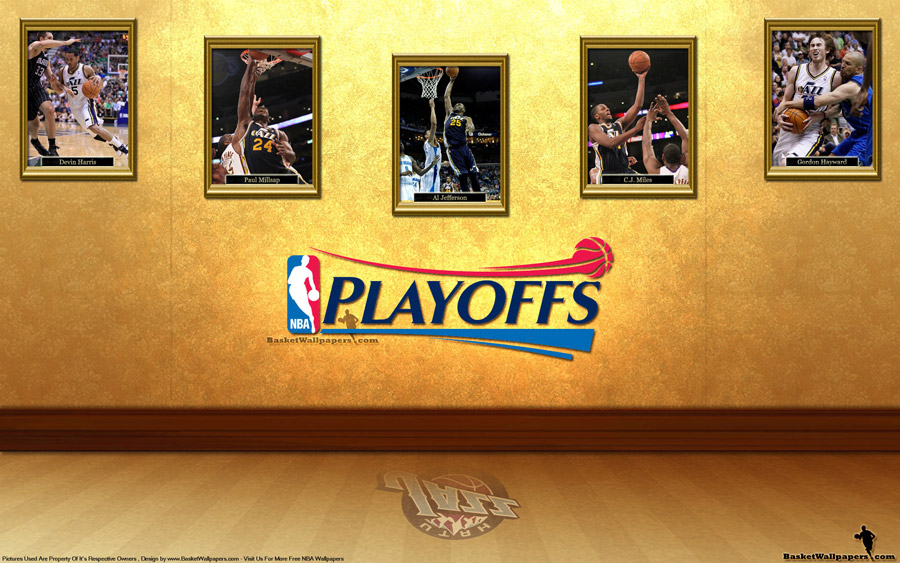 Utah Jazz See You In Playoffs 2012 Wallpaper