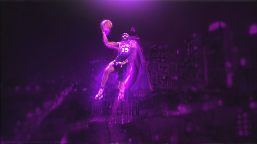 Vince Carter Suns 1600x900 Wallpaper
