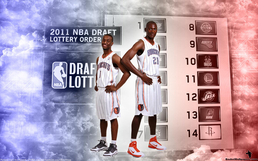 2011 NBA Draft Charlotte Bobcats Rookies Widescreen Wallpaper