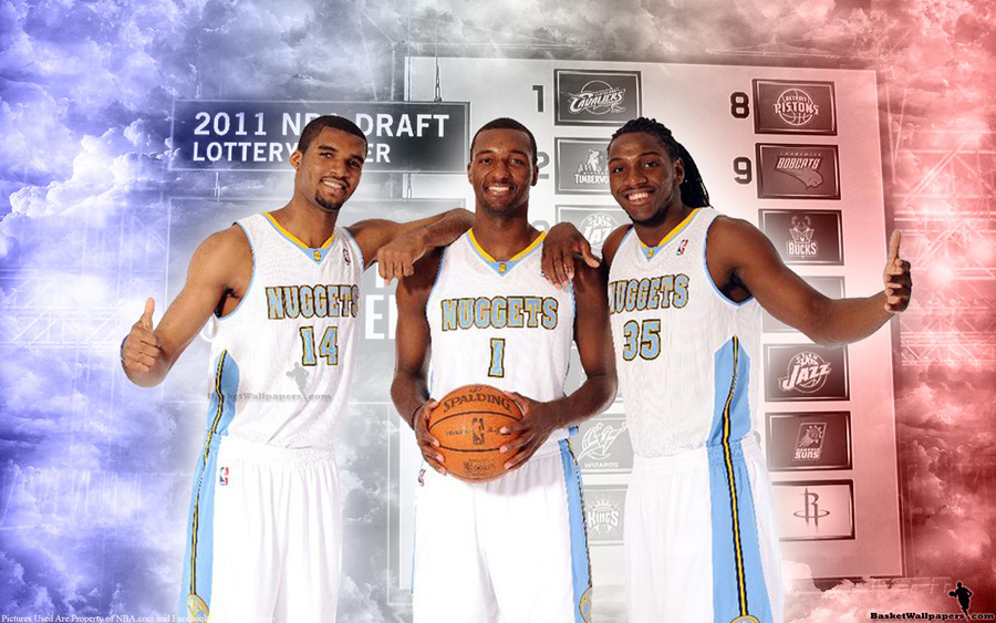 2011 NBA Draft Denver Nuggets Rookies Widescreen Wallpaper
