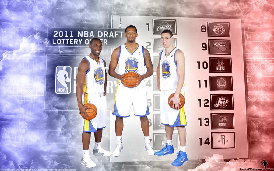 2011 NBA Draft Golden State Warriors Rookies Widescreen Wallpaper