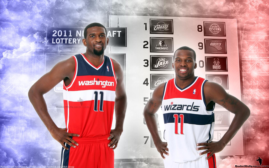 2011 NBA Draft Washington Wizards Rookies Widescreen Wallpaper