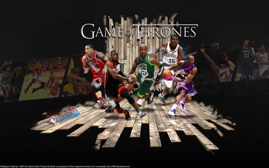 2011 NBA Playoffs - Game Of Thrones Widescreen Wallpaper