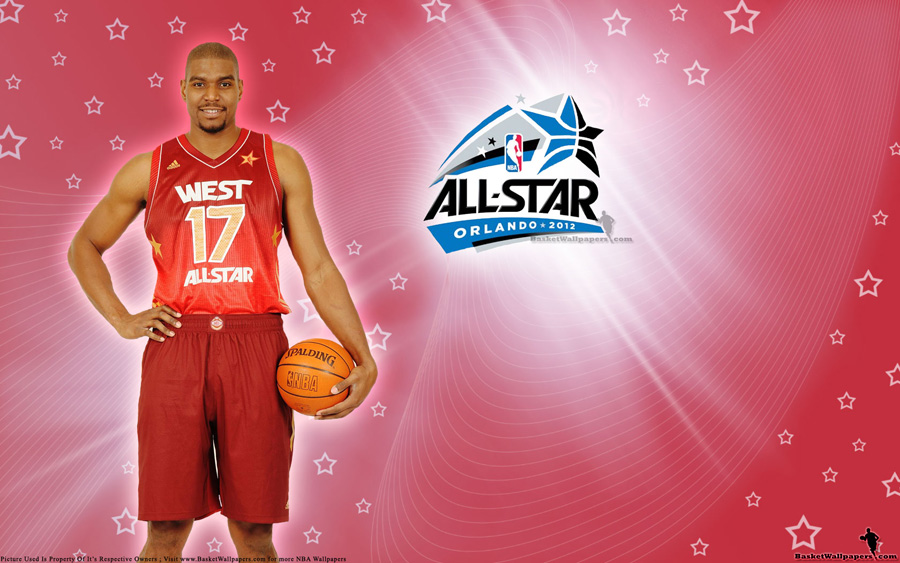2012 NBA All-Star Andrew Bynum Wallpaper