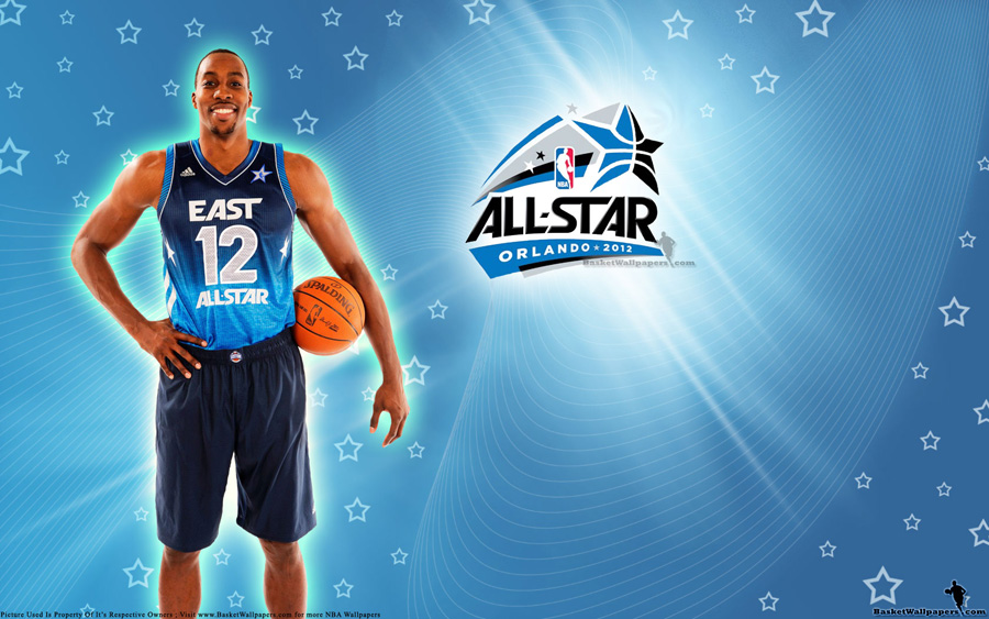 2012 NBA All-Star Dwight Howard Wallpaper