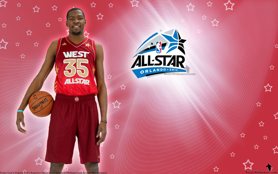 2012 NBA All-Star Kevin Durant Wallpaper