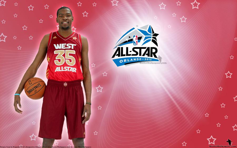 2012 NBA All-Star Kevin Durant Wallpaper