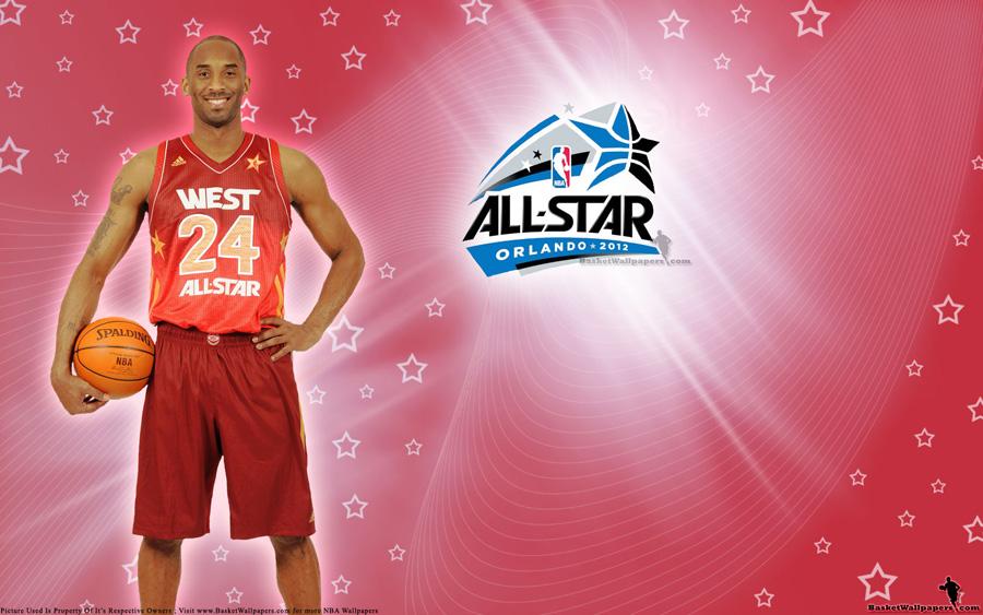 2012 NBA All-Star Kobe Bryant Wallpaper