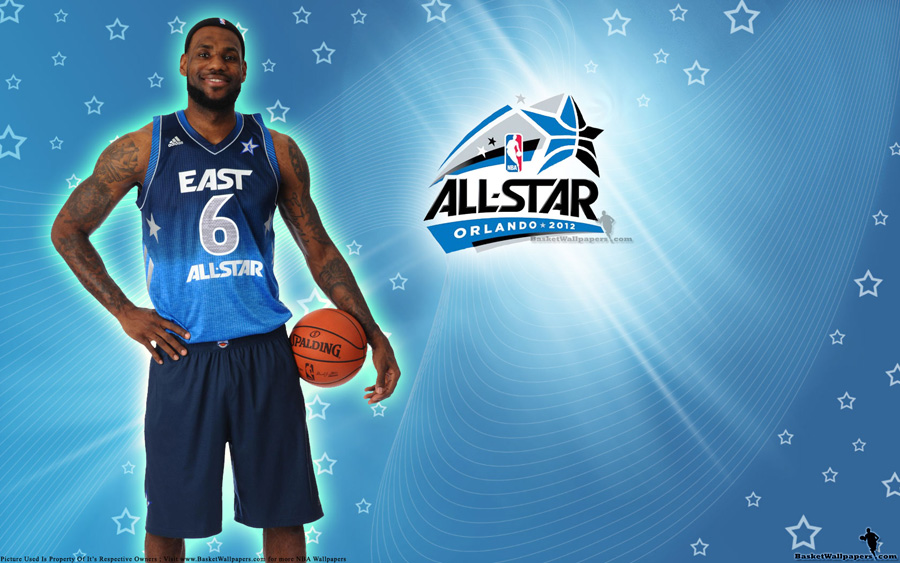 2012 NBA All-Star LeBron James Wallpaper