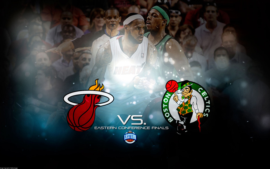 2012 NBA Playoffs East Finals Wallpaper