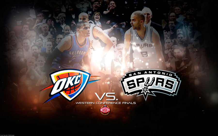 2012 NBA Playoffs West Finals Wallpaper