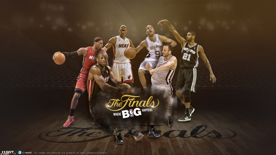 2013 NBA Finals Where Big Happens 1920x1080 Wallpaper