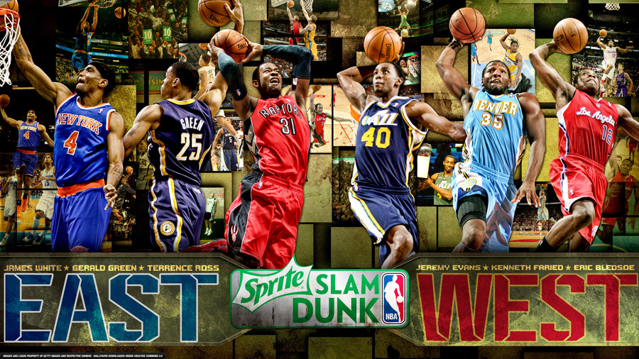 2013 NBA Slam Dunk Contest 2560x1440 Wallpaper