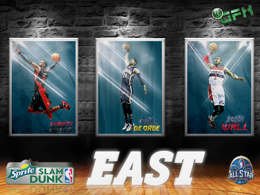 2014 NBA All-Star Slam Dunk East 1920x1440 Wallpaper
