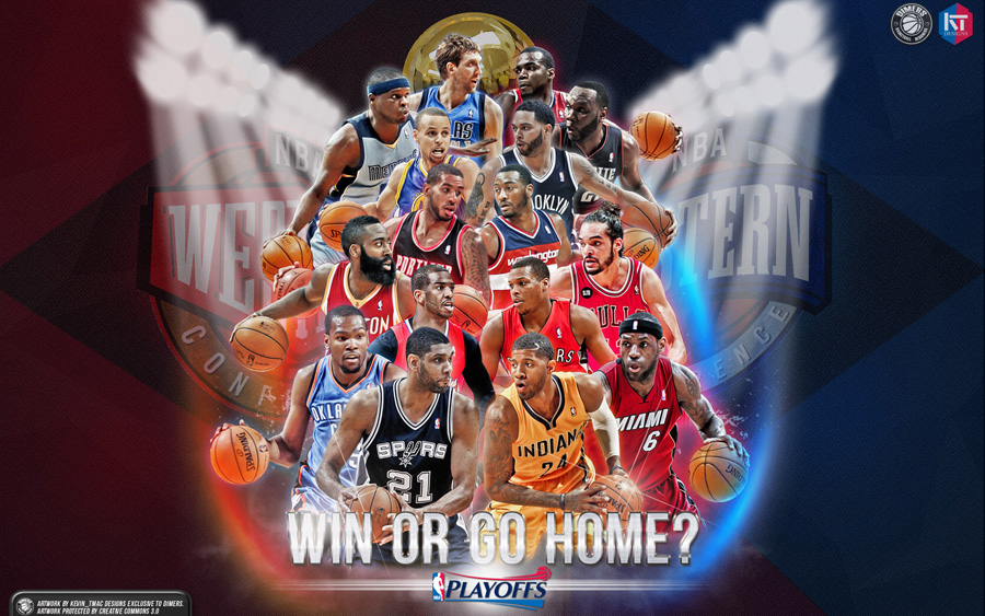 2014 NBA Playoffs Stars Wallpaper