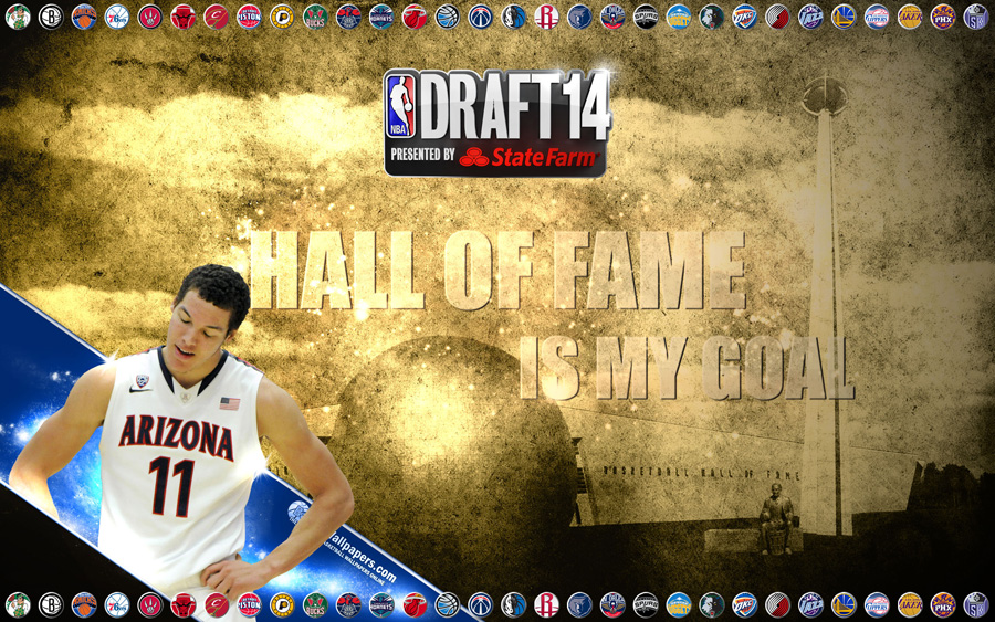 Aaron Gordon 2014 NBA Draft Wallpaper