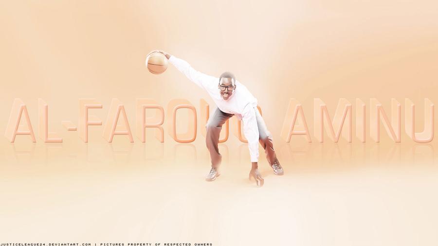 Al-Farouq Aminu Dribbling Widescreen Wallpaper