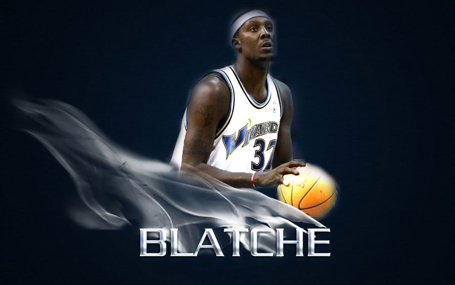Andray Blatche Wizards Widescreen Wallpaper