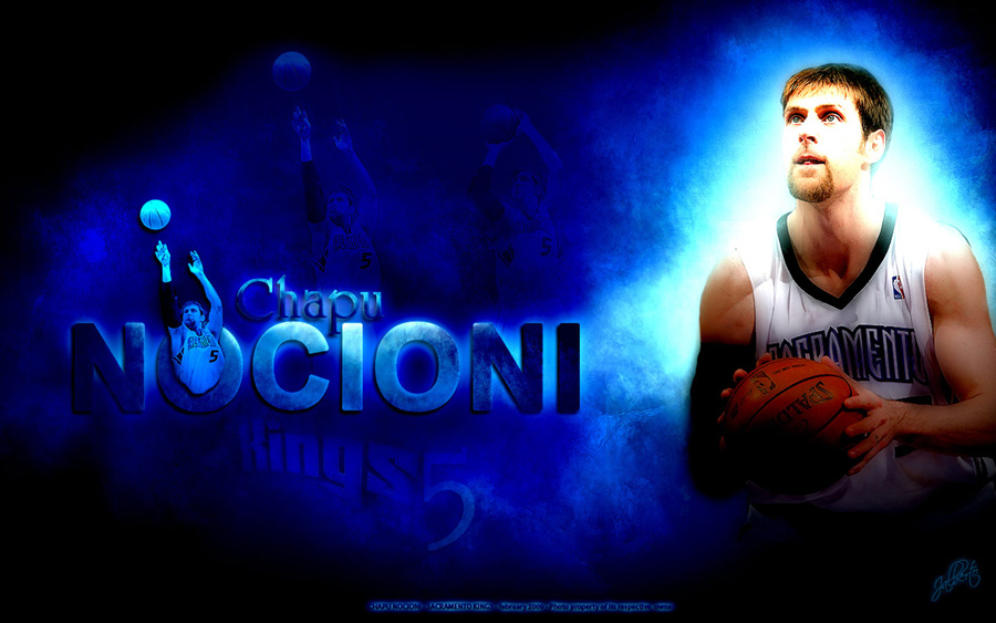 Andres Nocioni Kings Widescreen Wallpaper