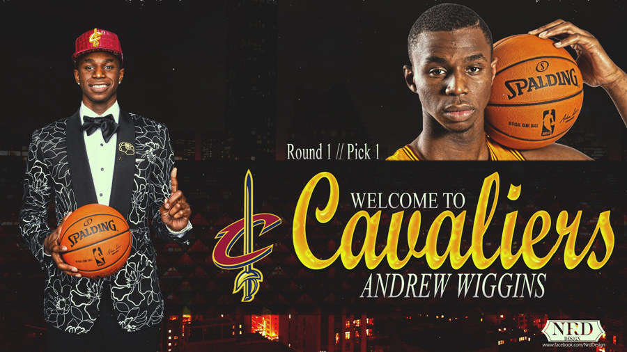 Andrew Wiggins Cavs Draft Wallpaper