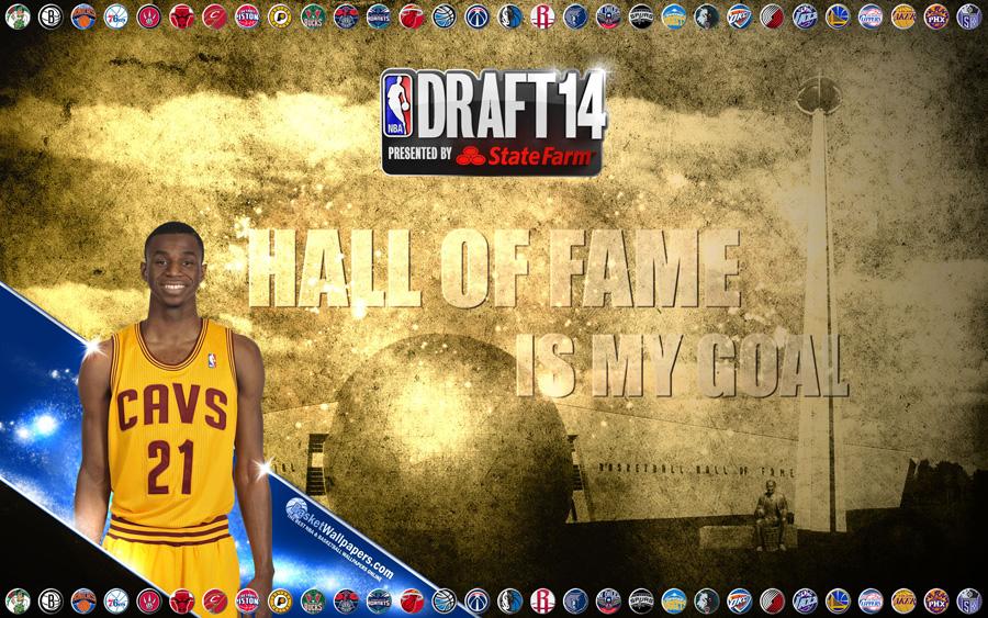 Andrew Wiggins Cleveland Cavaliers 2014 Wallpaper