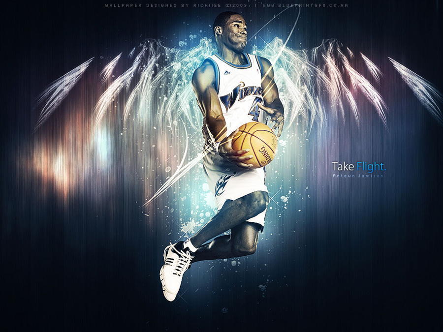 Antawn Jamison Flight Wallpaper