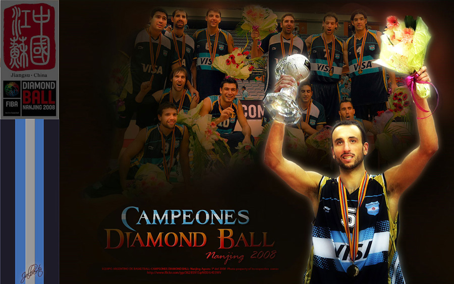 Argentina Diamond Ball 2008 Champions Wide Wallpaper
