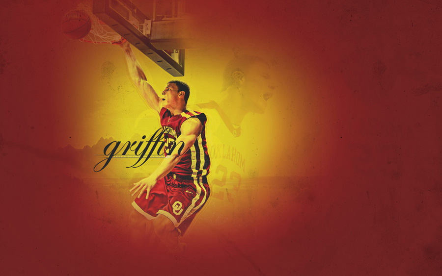 Blake Griffin Oklahoma Sooners Widescreen Wallpaper