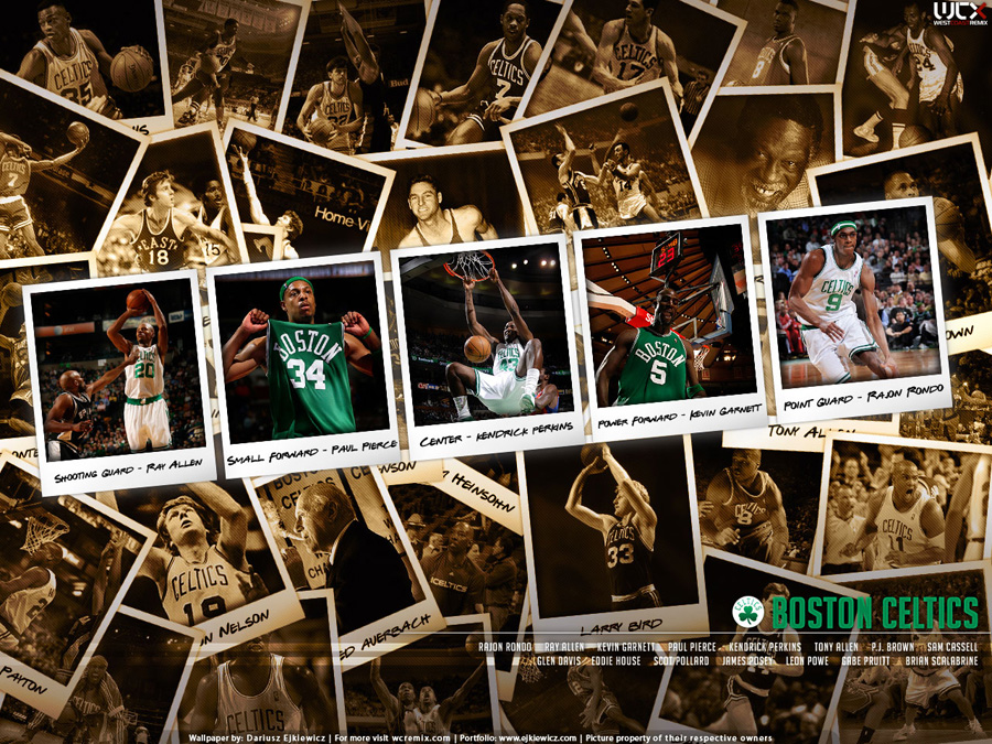 Boston Celtics 2008 Polaroid Wallpaper