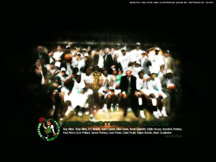 Boston Celtics NBA Champions 2008 Wallpaper