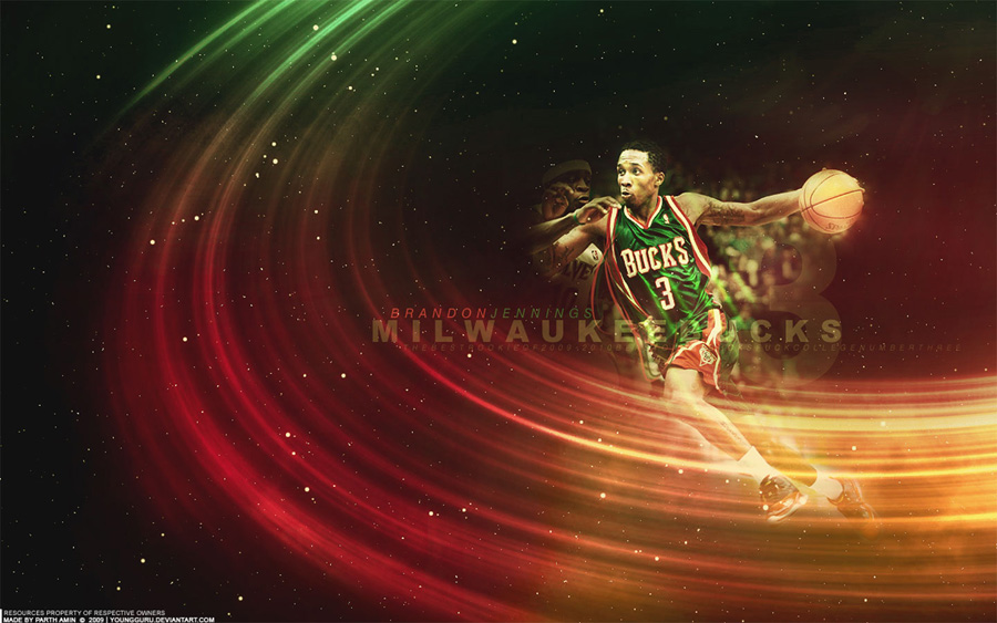 Brandon Jennings 1440x900 Wallpaper