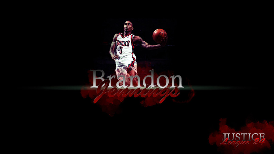 Brandon Jennings 1600x900 Widescreen Wallpaper