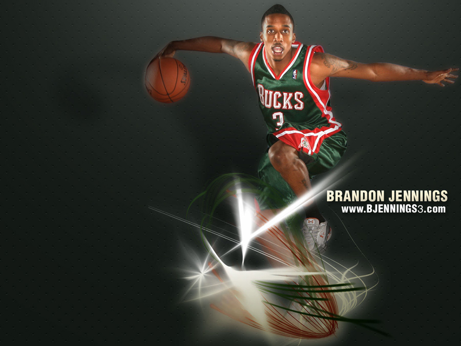 Brandon Jennings Bucks Wallpaper