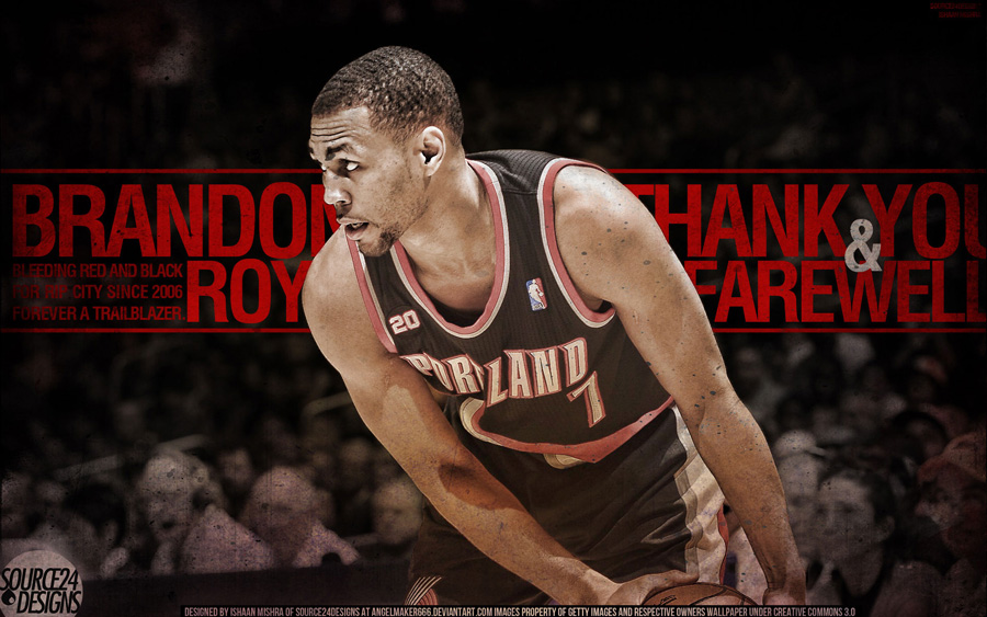 Brandon Roy Retires 1920x1200 Wallpaper