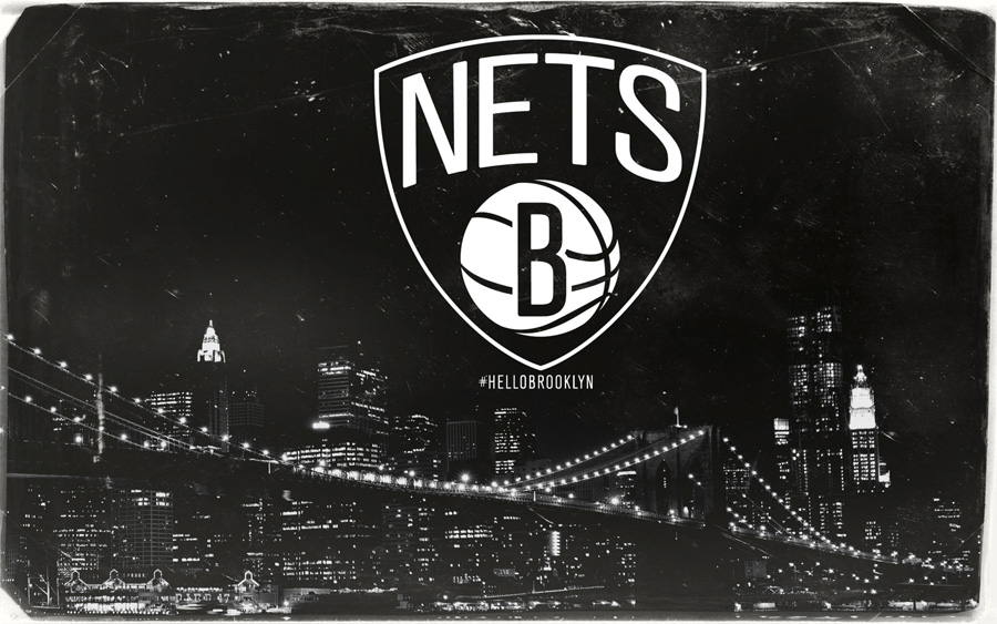 Brooklyn Nets Logo 1920x1200 Wallpaper