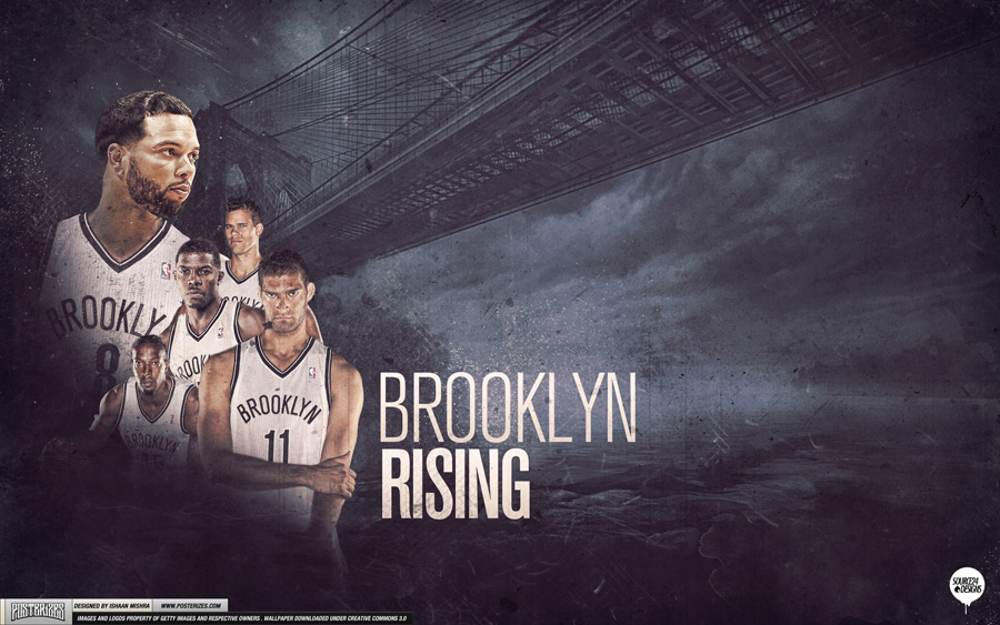 Brooklyn Nets Rising 2012 2560x1600 Wallpaper