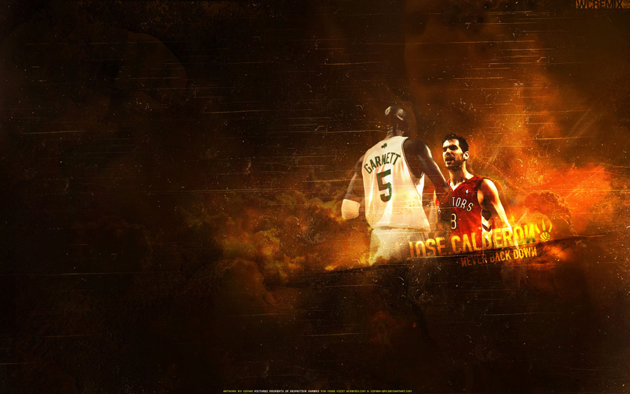 Calderon vs KG Widescreen Wallpaper