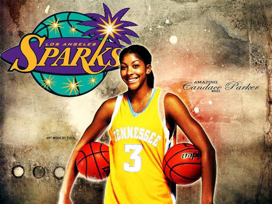 Candace Parker Tennessee Wallpaper