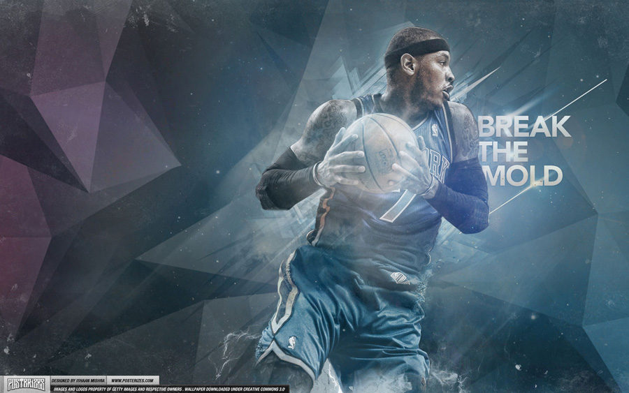 Carmelo Anthony 2012 Wallpaper