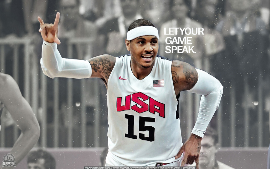 Carmelo Anthony London 2012 1920x1200 Wallpaper