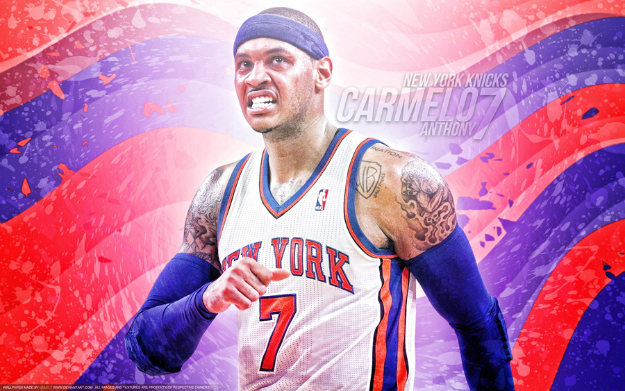 Carmelo Anthony New York Knicks 1920x1200 Wallpaper