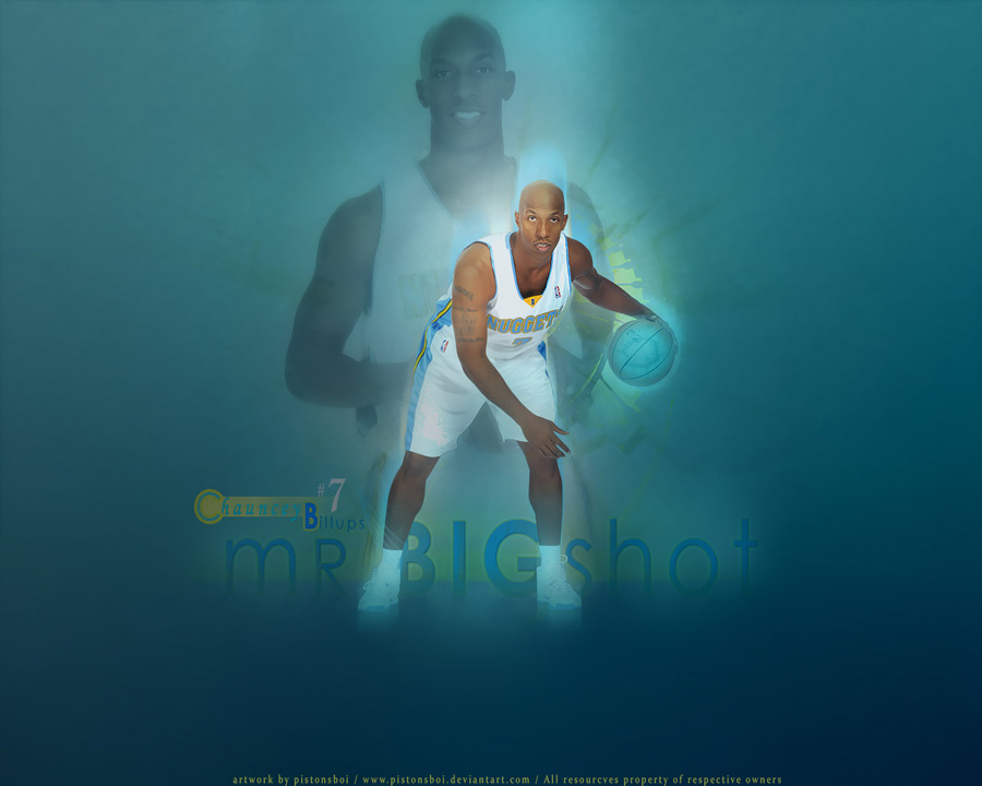 Chauncey Billups Denver Nuggets Wallpaper